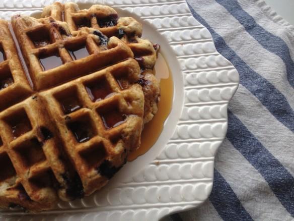 Blueberry waffles (4)